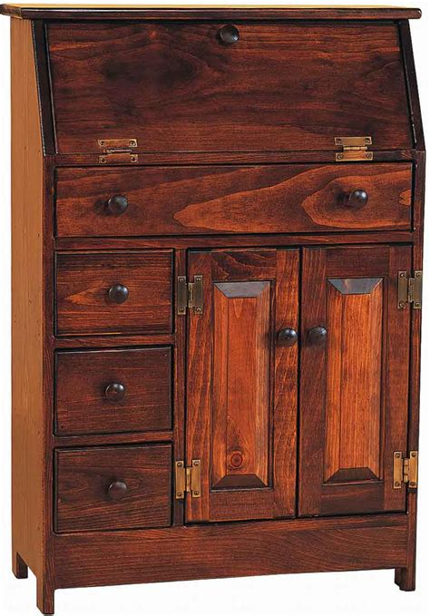secretary armoire wood computer armoire office furniture