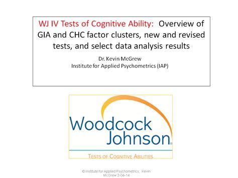 woodcock johnson iii tests of cognitive abilities sle report woodcock johnson iii technical manual backlthewk