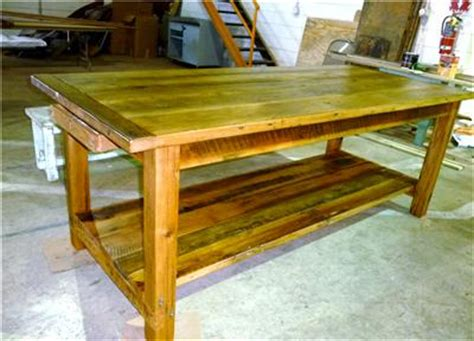 farm table kitchen island farmhouse style kitchen table island antique reclaimed
