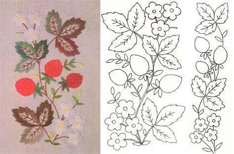 imagenes de flores para bordar a mano dibujos de flores para bordar a mano imagui