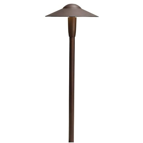Kichler Path Light Kichler Lighting Textured Architectural Bronze Led Path Light 15810azt30r Destination Lighting