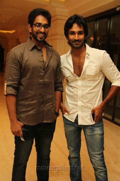 actor aadhi brother picture 227741 tamil actor aadhi with brother stills