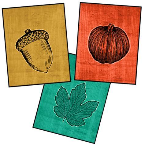 printable fall decorations autumn printable trio printable decor