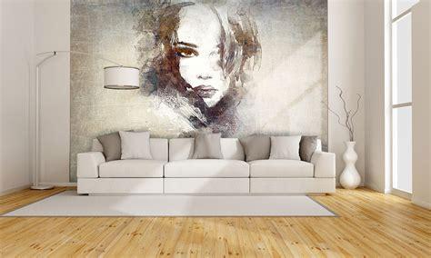 Elegant Wall Murals carta da parati moderna e artistica portrait g 003