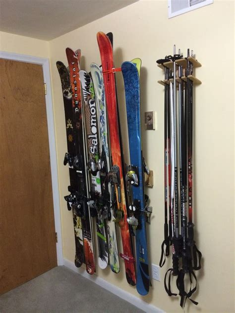 Home Ski Rack by 25 Best Ideas About Ski Rack On
