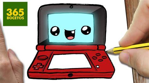 imagenes kawaii de videojuegos como dibujar nintendo 3ds art academy kawaii paso a paso