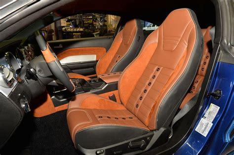 tmi upholstery interior restoration tmi 2005 ford mustang sema tmi s new sport xr seats