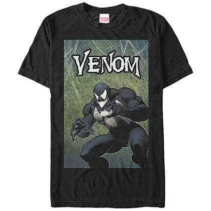Tank Top Venom Logo logo faded tank top superheroden