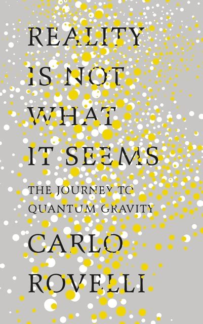 sunday book carlo rovelli reality is not what it seems