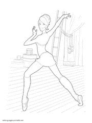 mini barbie coloring pages barbie in the pink shoes coloring pages for girls