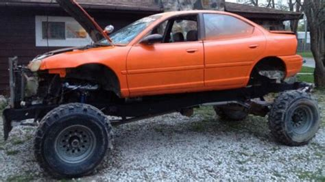 dodge mud truck for sale a dodge neon mud truck for the frugal who wants to