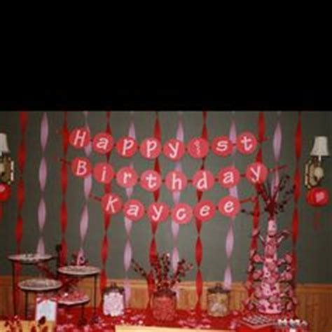 party themes in february 1000 images about first birthday party valentine theme on