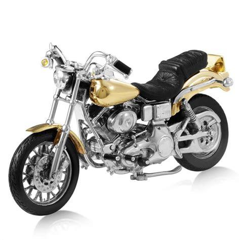 Harley Davidson White Silver 1 sterling silver gold harley davidson dyna low rider 1999 for sale at 1stdibs