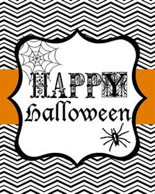 Halloween Decorations To Print Free Halloween Printables