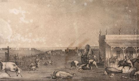 grabado matadero c h pellegrini 1841 esteban echeverr 237 a