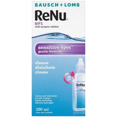 Mps A Multi Purpose Solution 100ml bausch lomb renu mps multi purpose solution 120ml