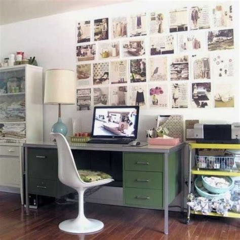 Vintage Home Office Decor | 30 modern home office decor ideas in vintage style