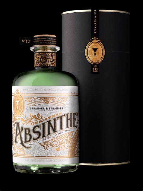 What Is Beautiful About Cannabis And Absinthe by Absinthe The Dieline