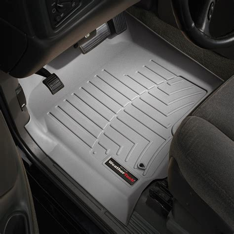 weathertech 174 460031 digitalfit 1st row gray molded floor liners