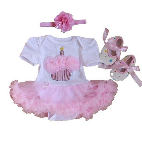 Set Shoes And Set Tutu For Baby 0 12 Bulan 44 newborn baby clothing set cake bodysuits tutu crib shoes headband 3pcs birthday