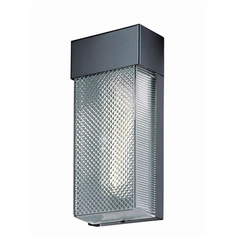 Home Depot Outdoor Wall Lighting Hton Bay 1 Light Black Outdoor Wall L Hb7023p 05 The Home Depot