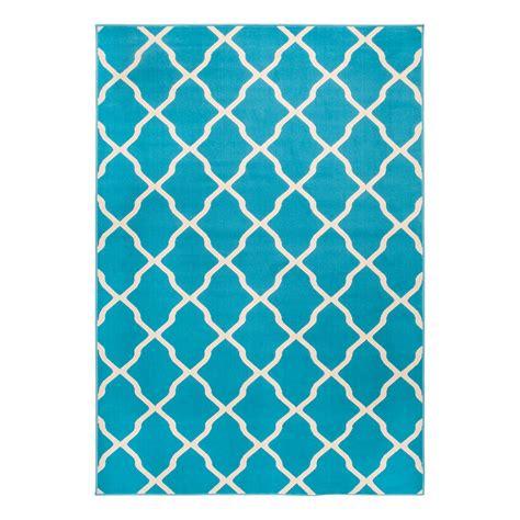 teppich 160 x 200 teppich mesh kunstfaser t 252 rkis beige 140 x 200 cm