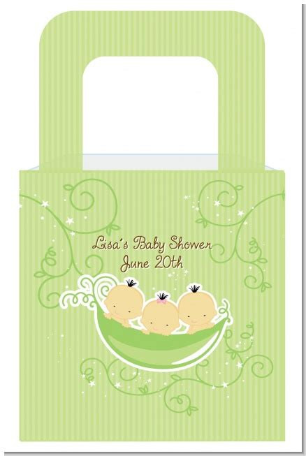 Three Peas In A Pod Baby Shower by Triplets Three Peas In A Pod Asian One Two Boys Baby