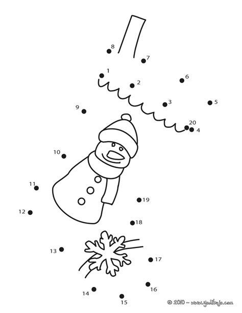 dibujos de navidad para colorear y unir puntos dibujos navide 241 os para unir puntos