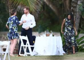 harry meghan prince harry and meghan markle at wedding in jamaica 2017 popsugar celebrity photo 14