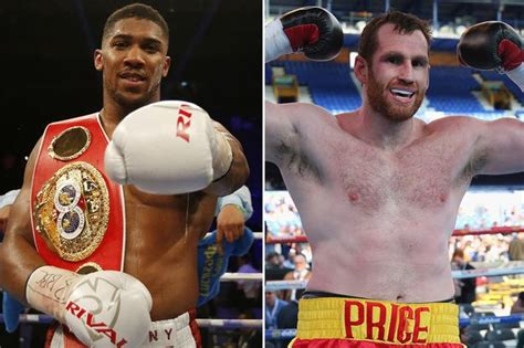 Molina Sweepstakes - anthony joshua took easy option in eric molina claims david price after missing out