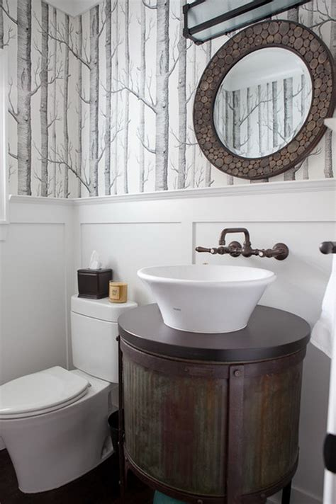 wonderfully wallpapered powder rooms homedesignboard