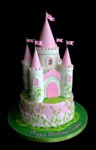 Princess castle cake everything is edible