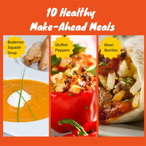 Make Ahead Detox Lunches by 10 Healthy Make Ahead Mealsatlas And Nutrition