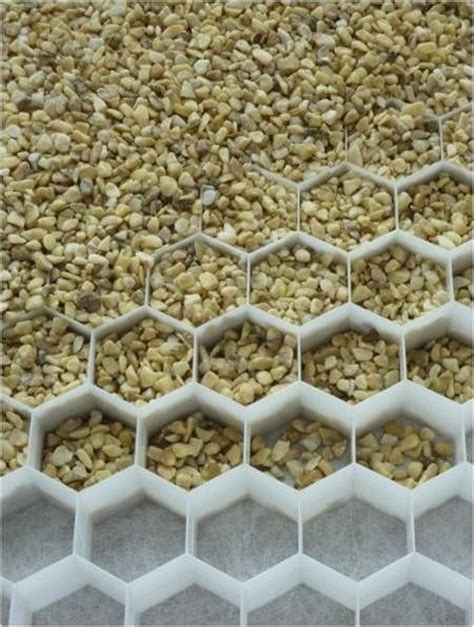 Types Of Gravel For Yard Underlayment System So Pea Gravel Won T Disappear How