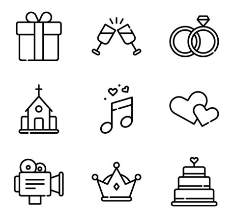 Wedding Font Icon by Free Vector Icons Svg Psd Png Eps Icon Font