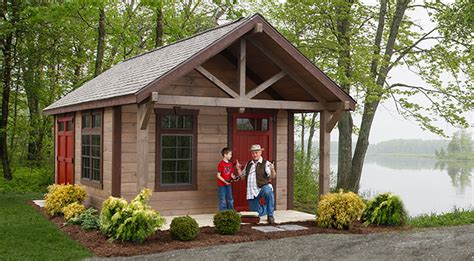 Sheds With Porches For Sale by Rustic Garden Sheds With Porches With It S Porch And