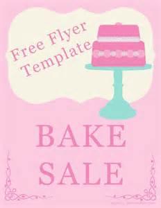 bake sale template bake sale flyer template holidays happy days