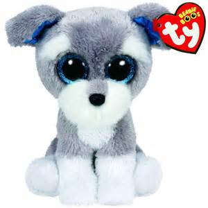 whiskers ty beanie boo dog works toys