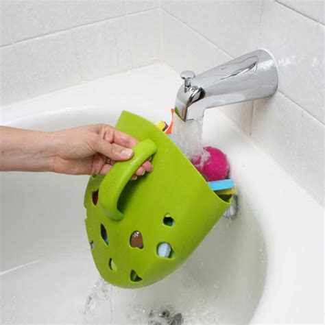 frog toy holder bathtub bath toy storage containers frog pod and bug pod from boon 09 stylish eve