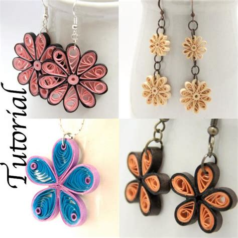 quilling tutorial download tutorial for paper quilled jewelry pdf honeysquilling