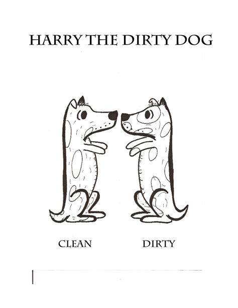 free dirty child coloring pages