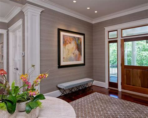 colorful entryway wallpaper grasscloth wallpaper home design ideas pictures remodel