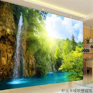 wall scenery murals large tv wall mural beautiful scenery wallpaper 3d