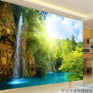 Salon Wall Murals large tv wall mural beautiful scenery wallpaper 3d