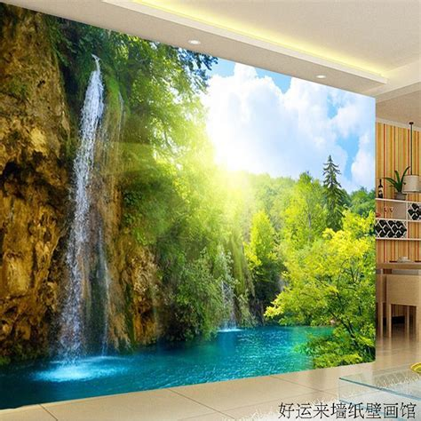 salon wall murals large tv wall mural beautiful scenery wallpaper 3d