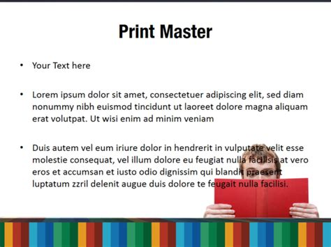 themes in reading powerpoint student reading powerpoint templates student reading