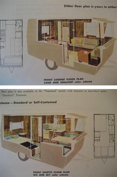 vintage travel trailer floor plans vintage travel trailer floor plans the two floor plan