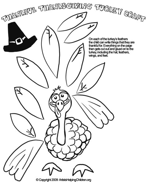 printable thanksgiving crafts for free thanksgiving printable worksheets