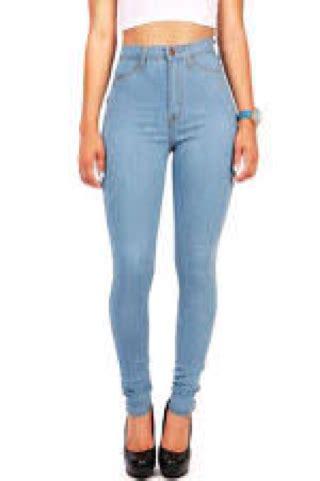 Terbatas Celana Wanita High Waist Hw Biru Muda Light Blue Cela jual celana high waist biru muda biru telur asin