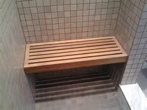 built in shower bench interior designs ideas